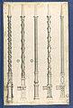 Bed Pillars, in Chippendale Drawings, Vol. I MET DP104171.jpg