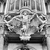 beeldhouwwerk orgel, onder rugwerk - amsterdam - 20013296 - rce