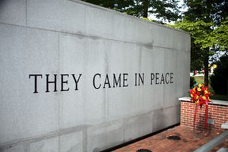 1983 Beirut barracks bombings - Beirut Memorial, Marine Corps Base Camp Lejeune