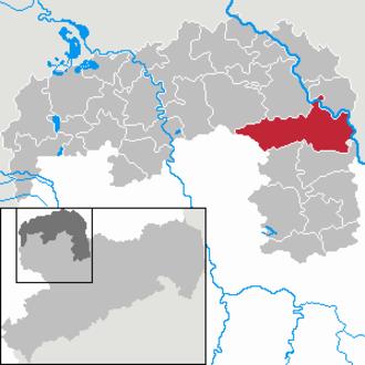Belgern-Schildau - Image: Belgern Schildau in TDO
