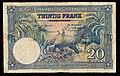 Belgian Congo 20 Francs 1952, recto Dutch.jpg