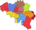 Belgische Gerechtelijke Arrondissementen (2012).png