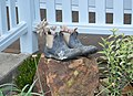 Bell Memorial Public Hall Plants in Boots.JPG