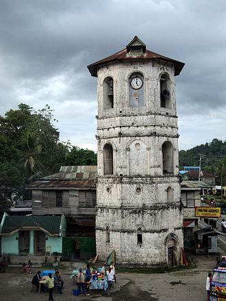 Loboc Church - Image: Bell Tower St. Peter Parish Loboc, Bohol