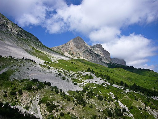 Below the Vercors ridge 2