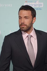 A photograph of Ben Affleck attending the premiere of He's Just Not That Into You in 2009
