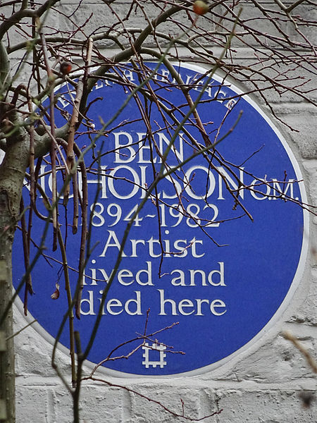 File:Ben Nicholson O.M. 1894-1982 artist lived and died here.jpg