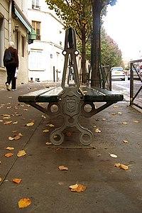 Benche in Paris 2008.jpg