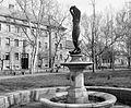Benczúr tér. Vénusz születése (bronzmásolat) Kisfaludi Strobl Zsigmond alkotása. Fortepan 5745.jpg