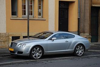 Dirk van Braeckel - Bentley Continental GT