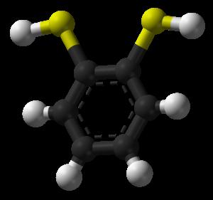 1,2-Benzenedithiol - Image: Benzene 1,2 dithiol 3D balls
