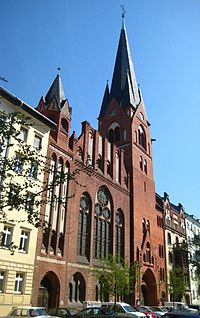 Berlin, Mitte, Borsigstrasse 6, Golgatha-Kirche.jpg
