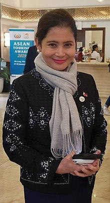 ed52381ccb851 Bernadette Romulo-Puyat - Bernadette Fatima Tecson Romulo-Puyat at the  ASEAN Tourism Forum