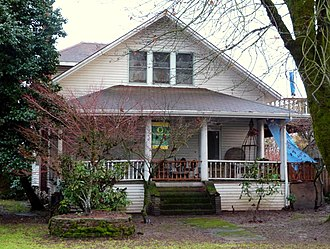 National Register of Historic Places listings in Yamhill County, Oregon - Image: Berry Sigler Investment Property Dayton Oregon