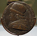 Bertoldo di giovanni, medaglia di federico III imperatore, 1469, 01.JPG