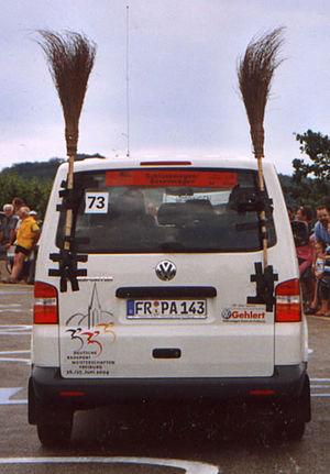 Broom wagon - Broom wagon, German cycling road race