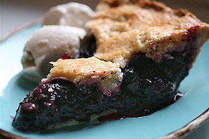 Blueberry pie - Image: Best Blueberry Pie with Foolproof Pie Dough