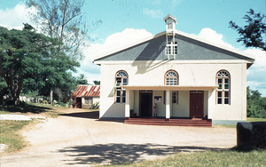 Jamaica Province of the Moravian Church - Bethabara Moravian Church, 1979.