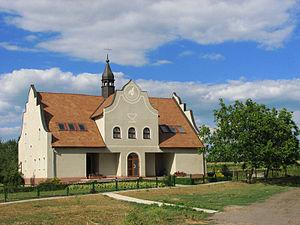 Czechs in Ukraine - Czech chapel in Bohemka, built in 1996