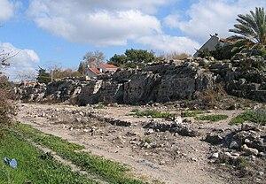 Beit Hanania - Image: Beyt Hananiya aqueduct 800