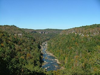 Big South Fork National River and Recreation Area - Image: Big South Fork 2006