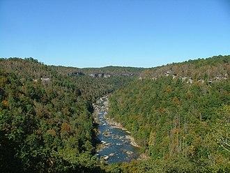 Big South Fork National River and Recreation Area - Image: Big South Fork 2006