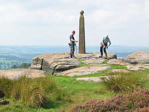 Birchen Edge - Nelson's Monument