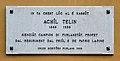 Birthplace Achille Tellini, Udine - plaque.jpg