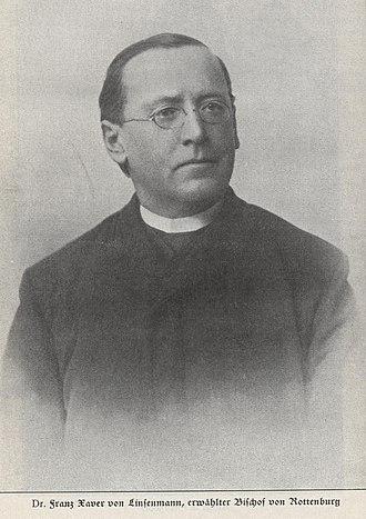 Franz Xaver von Linsenmann - Franz Xaver von Linsenmann.