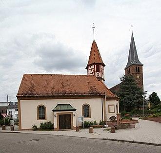 Bischweier - Image: Bischweier St Annen Kapelle 04 St Anna gje