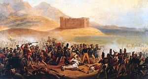 89th (Princess Victoria's) Regiment of Foot - The Battle of Fuengirola, where men from the 2nd Battalion undertook a bayonet charge, in October 1810