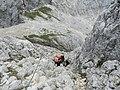 Bivacco Rigatti dalla ferrata dei Campanili - panoramio.jpg