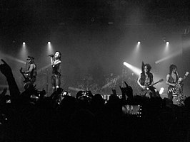 Concert van Black Veil Brides in New York op 25 januari 2013