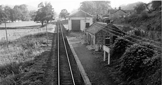 Great North of Scotland Railway - Blacksboat station in 1961