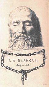 Máscara mortuoria de Louis Auguste Blanqui.
