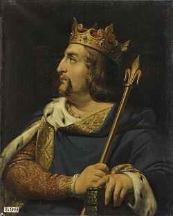 Portrait de Louis VI par Merry-Joseph Blondel, 1837