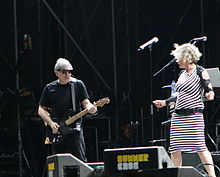 Chris Stein a Deborah Harry v roce 2008
