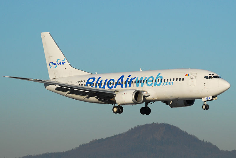companii aeriene low-cost Blue Air