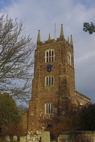 Blunham - The church tower