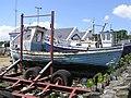Boat repair yard, Greencastle, Co. Donegal (6) - geograph.org.uk - 1124275.jpg