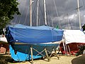 Boats in the Agamemnon Boat Yard, Bucklers Hard - geograph.org.uk - 176974.jpg