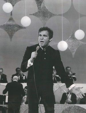 Bobby Vinton - Vinton performing on The Ed Sullivan Show in 1969