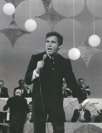 Bobby Vinton - Vinton performing on The Ed Sullivan Show in 1969