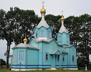 Bobychi Vol-Volynskyi Volynska-Intercession of the Theotokos church-nord-east view-2015.jpg