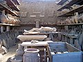 Body cast in storage, Pompeii (6071386791).jpg