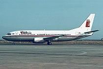 Boeing 737-3L9, Berlin European UK JP88108.jpg