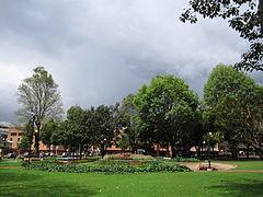 Bogotá Parque de la 93