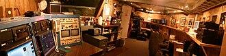 Bok Telescope - Panorama of the control room