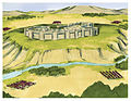 Book of Joshua Chapter 4-6 (Bible Illustrations by Sweet Media).jpg
