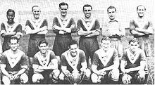 Il Bordeaux vincitore nel 1941 della Coppa di Francia, primo importante trofeo nella storia del club.